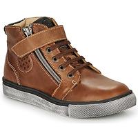 Schuhe Jungen Sneaker High Catimini TOBBY Braun