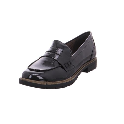 Tamaris Da.-Slipper BLACK PATENT 018