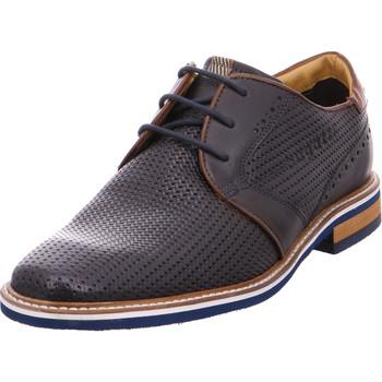 Schuhe Herren Derby-Schuhe Bugatti - 311461023500 blau