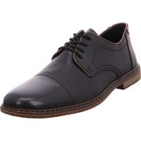 Schuhe Herren Derby-Schuhe Rieker - 13428-00 nero/mogano/braun