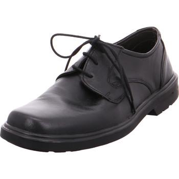 Schuhe Herren Slipper Quick Schnürhalbs.Sp-Boden 0Schwarz