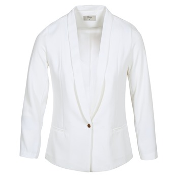 Kleidung Damen Jacken / Blazers Betty London IKAROLE Weiss