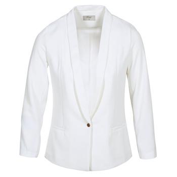 Kleidung Damen Jacken / Blazers Betty London IKAROLE Weiss