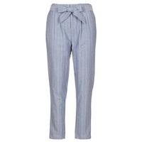 Kleidung Damen 5-Pocket-Hosen Betty London IKARALE Blau / Weiss