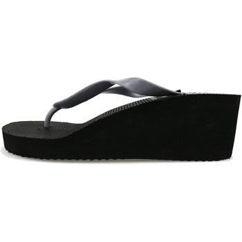 Schuhe Damen Zehensandalen Lotto sandalen grau gummi schwarz AG142 grau