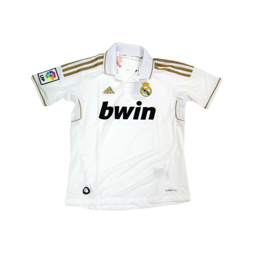Kleidung Herren T-Shirts adidas Performance Maillot  Real Madrid Domicile 11/12 Weiss