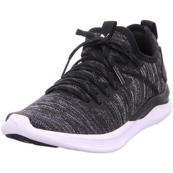 Schuhe Damen Sneaker Low Puma IGNITE Flash evoKNIT Wn  s PUMA BLACK-ASPHALT-PUMA W 001