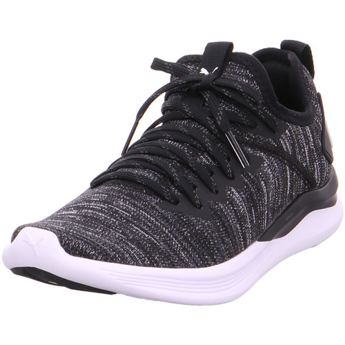 Puma IGNITE Flash evoKNIT Wn s PUMA BLACK-ASPHALT-PUMA W 001