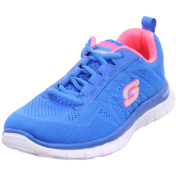 Schuhe Damen Sneaker Low Skechers - 11729 blau