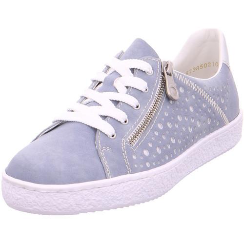 Rieker - Sneaker L4828-12 blue/silver - Schuhe Sneaker - Low Damen 36,95 e2d703