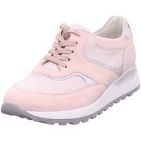 Schuhe Damen Sneaker Low Waldläufer Beq.bis25mm-Abs/Keil apricot/silber
