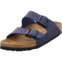 Schuhe Damen Pantoffel Birkenstock Arizona BF Blue Arizona BF Blue