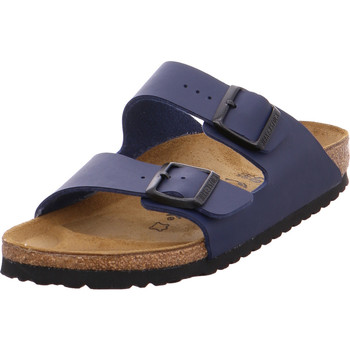 Schuhe Damen Pantoffel Birkenstock Arizona BF Blue Arizona BF Blue