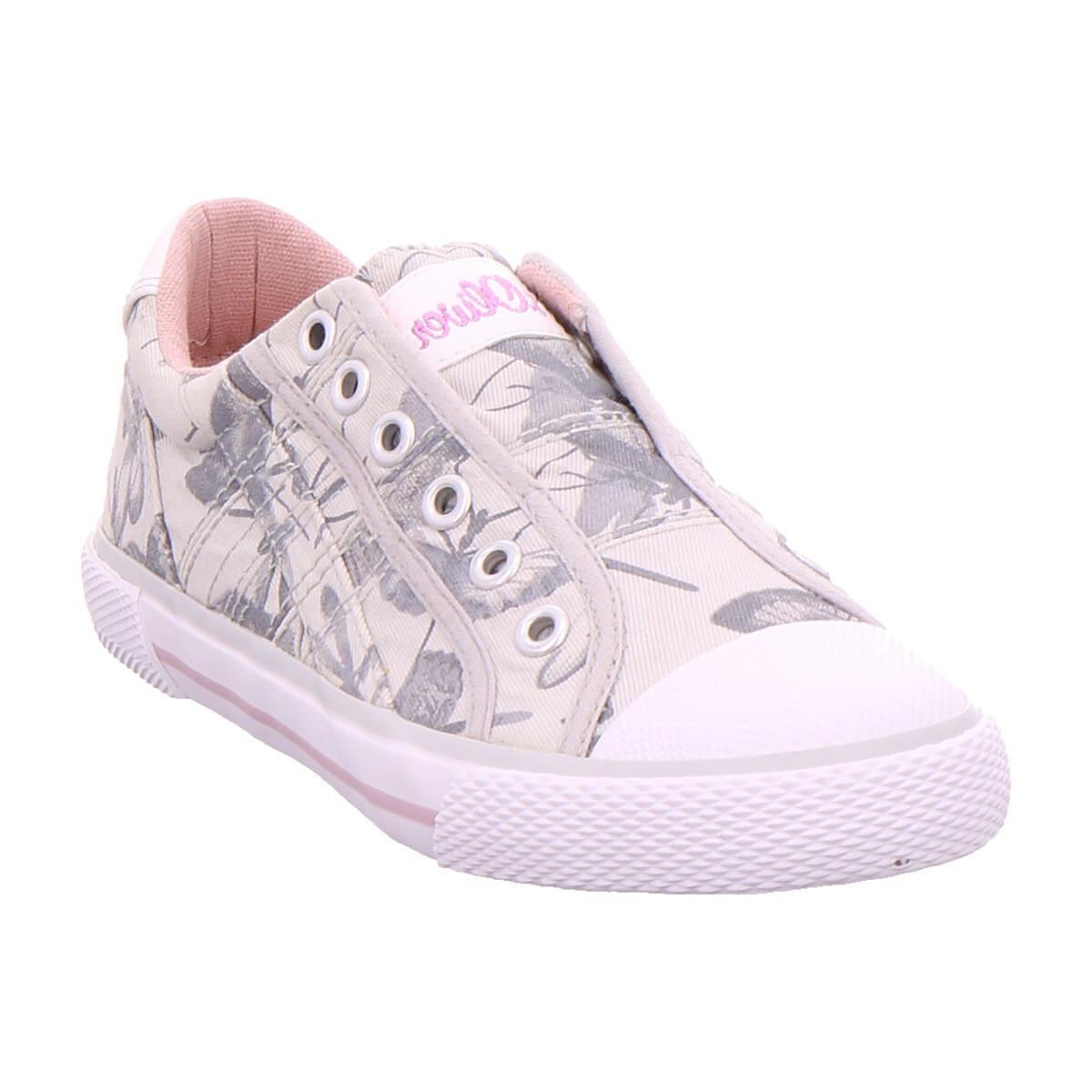 SOliver Ki-Slipper GREY FLOWER 204 - Schuhe Sneaker Low  39,95 €