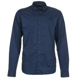 Kleidung Herren Langärmelige Hemden Les voiles de St Tropez ACOUPA Marine