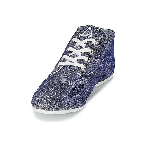 Eleven  Paris BASGLITTER Silbern  Eleven Schuhe TurnschuheLow Damen 55,99 fb5ef8