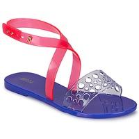 Schuhe Damen Sandalen / Sandaletten Melissa TASTY Blau / Rose