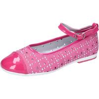 Schuhe Mädchen Ballerinas Didiblu ballerinas leder wildleder lack AG486 pink