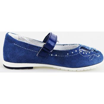 Schuhe Mädchen Ballerinas Didiblu DIDI blau ballerinas blau wildleder AG487 blau