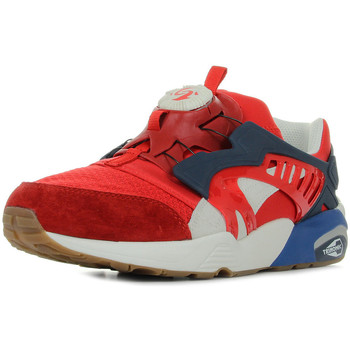 Schuhe Herren Sneaker Low Puma Disc Blaze Athl High Risk Blau