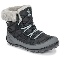 Schuhe Kinder Schneestiefel Columbia YOUTH MINX SHORTY OMNI-HEAT™ WATERPROOF Schwarz