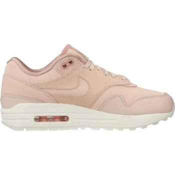 Schuhe Damen Sneaker Low Nike AIR MAX 1 PRM Rosa