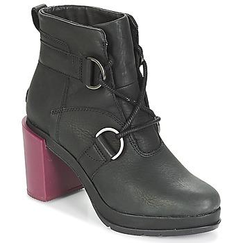 Schuhe Damen Low Boots Sorel MARGO™ LACE Schwarz