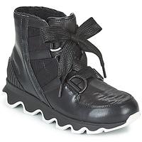 Schuhe Damen Schneestiefel Sorel KINETIC™ SHORT LACE Schwarz