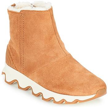 Schuhe Damen Schneestiefel Sorel KINETIC™ SHORT Camel