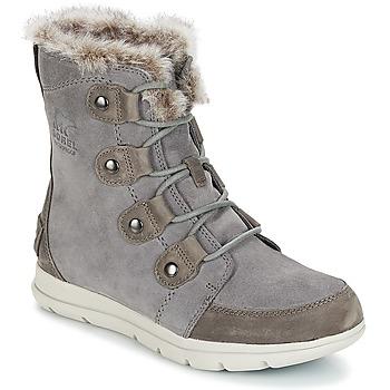 Schuhe Damen Schneestiefel Sorel SOREL™ EXPLORER JOAN Grau