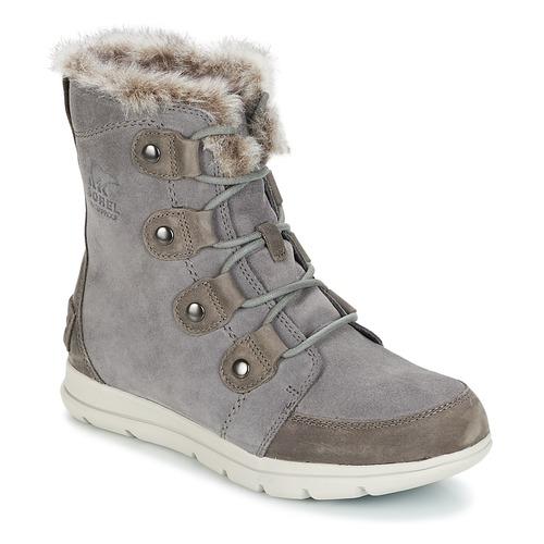 Sorel SOREL™ EXPLORER JOAN Grau  Schuhe Schneestiefel Damen 149,99