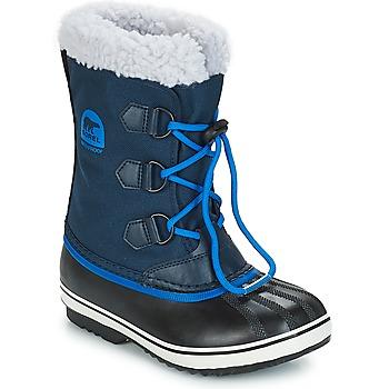 Schuhe Kinder Schneestiefel Sorel YOOT PAC NYLON Marine