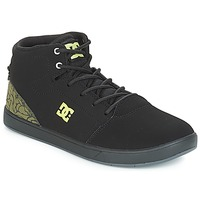Schuhe Kinder Sneaker High DC Shoes CRISIS HIGH SE B SHOE BK9 Schwarz / Grün