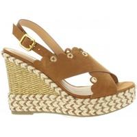 Schuhe Damen Sandalen / Sandaletten Sprox 391013-B6600 Marr?n