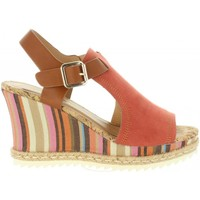 Schuhe Damen Sandalen / Sandaletten Sprox 391663-B6600 Marr?n