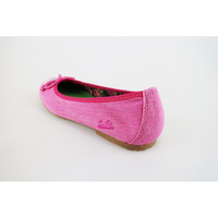 Schuhe Mädchen Ballerinas Lulu ballerinas pink fucsia segeltuch AG639 pink