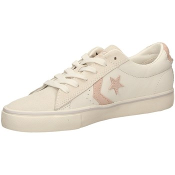 Schuhe Damen Sneaker Low Converse PRO LEATHER VULC OX Weiss