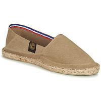 Schuhe Leinen-Pantoletten mit gefloch Art of Soule UNI Beige