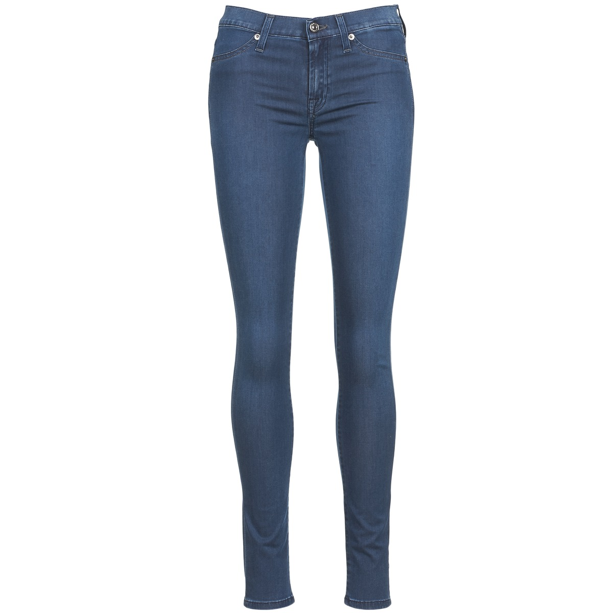 7 for all Mankind SKINNY DENIM DELIGHT Blau