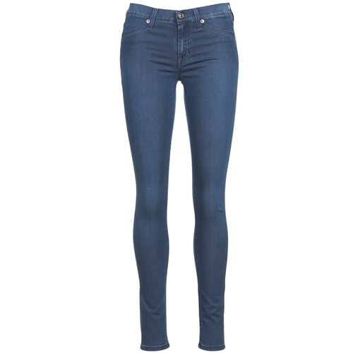 Kleidung Damen Slim Fit Jeans 7 for all Mankind SKINNY DENIM DELIGHT Blau