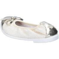 Schuhe Mädchen Ballerinas Lelli Kelly ballerinas beige textil platin leder AG673 beige
