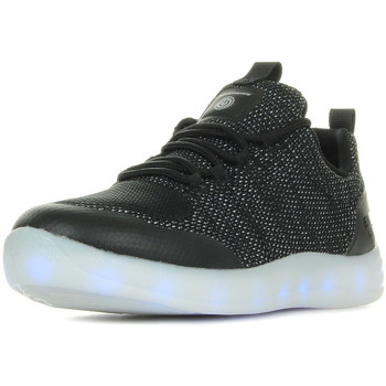 Schuhe Jungen Sneaker Low Skechers S Lights Energy Lights Street Black Schwarz