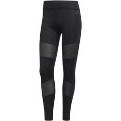 Kleidung Damen Leggings adidas Performance Mesh Mix Lange Tight Schwarz