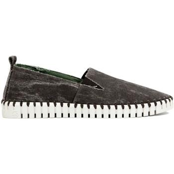 Schuhe Herren Leinen-Pantoletten mit gefloch Slowwalk Slipper 10558 jeans