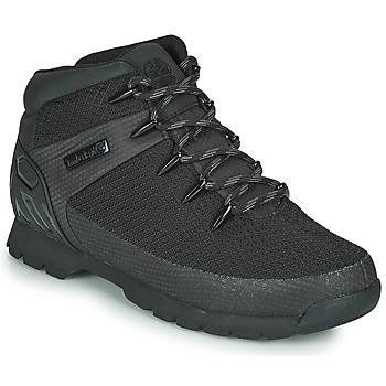 Schuhe Herren Boots Timberland Euro Sprint Fabric WP Schwarz
