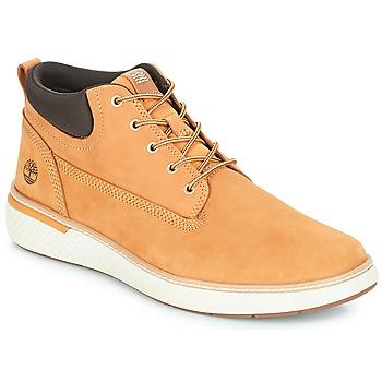 Schuhe Herren Sneaker High Timberland Cross Mark PT Chukka Rot multi wf sde