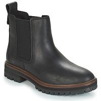 Schuhe Damen Boots Timberland London Square Chelsea Schwarz