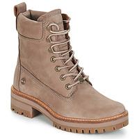 Schuhe Damen Boots Timberland Courmayeur Valley YBoot Maulwurf