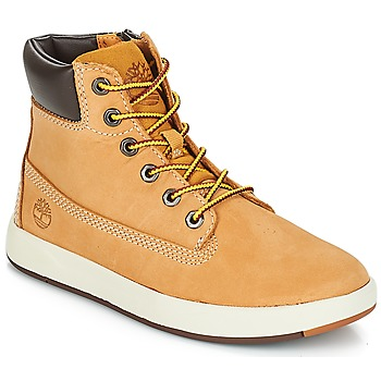 Schuhe Kinder Boots Timberland Davis Square 6 Inch Boot Rot multi wf sde