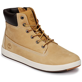 Schuhe Kinder Boots Timberland Davis Square 6 Inch Boot Naturebuck